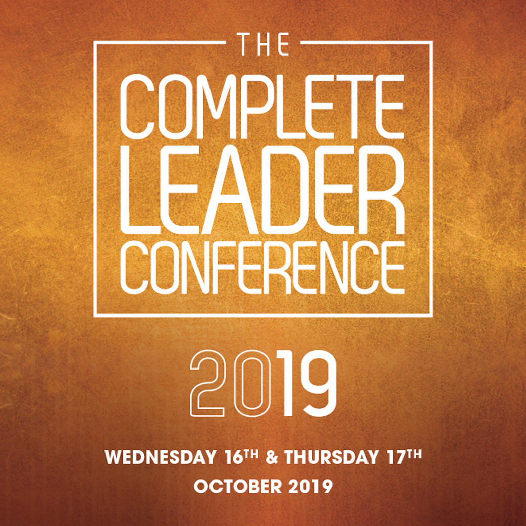 The Complete Leader Conference - 16th Oct 2019 – 17th Oct 2019