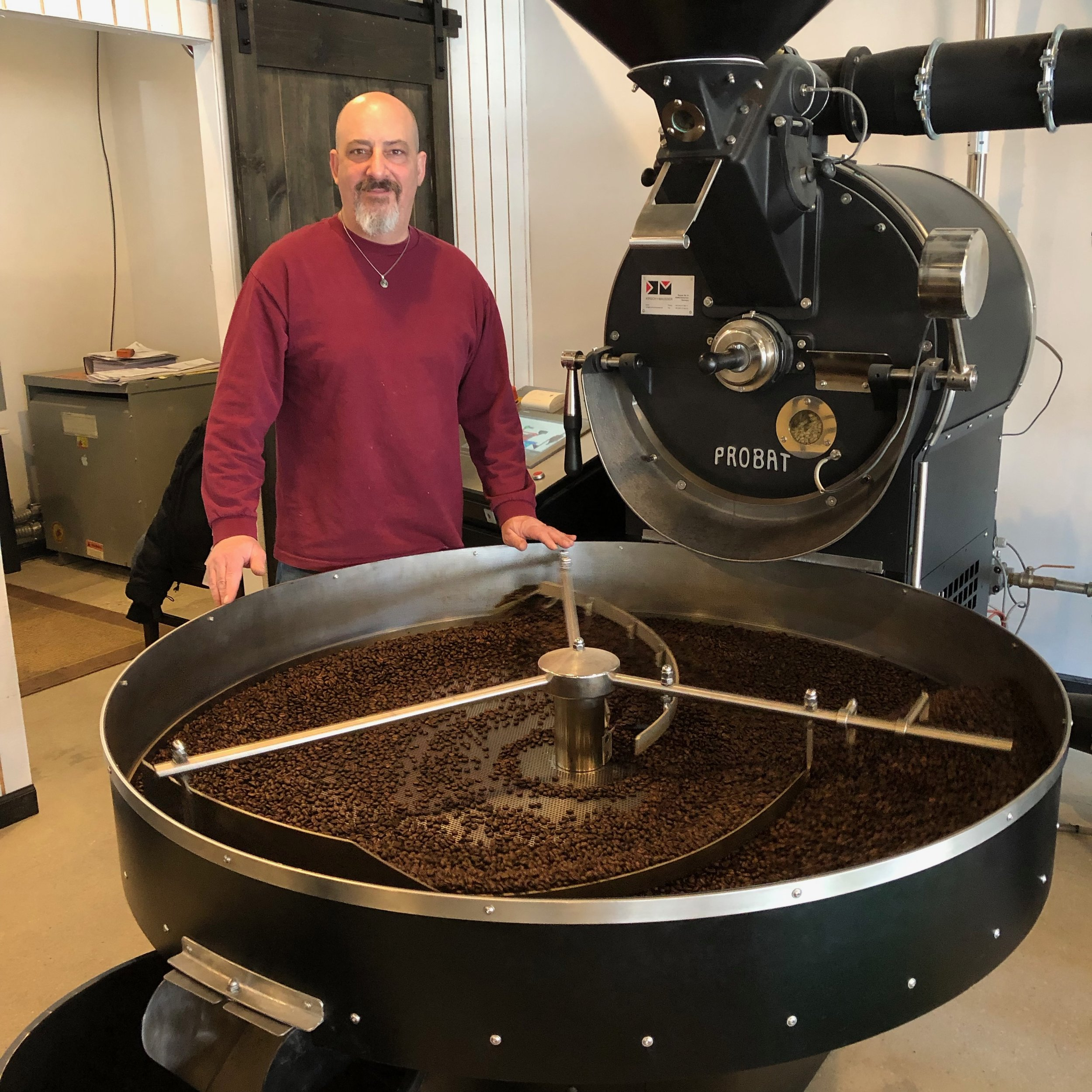 "Who is Mongo? - Mitchel ""Mongo"" Margulis has many years of experience in the specialty coffee industry. He has a passion for coffee that runs deep in his soul. So… it seems only natural that he would build a coffee shop within a roastery!"