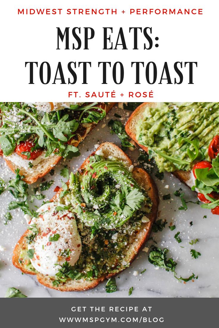 Healthy Tomato Toast Recipe