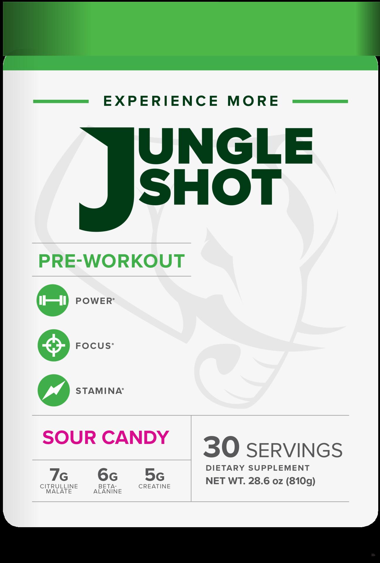 Jungle Shot Pre- Workout