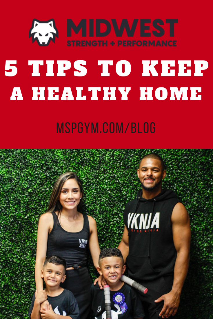 Ways to maintain a healthy family and  home