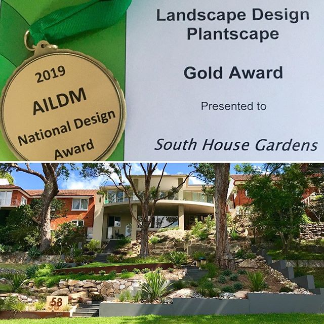 So thrilled to win Gold at the AILDM National Awards for Landscape Designers in Melbourne on Saturday. I'm very proud of this garden and very grateful to my lovely clients and all those involved in the build and landscaping. And all the wildlife that returned to the garden after completion. #aildm #sydney #landscapedesign #landscapedesigner