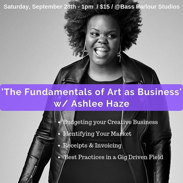 This month, Haze's Higher Learning will be partnering with @bassparlour to bring you a workshop on managing your creative business. Registration link in bio. We look forward to seeing you there! #hazeshigherlearning #ashleehaze #creatives #atlanta #workshops #entrepreneurs #bassparlour