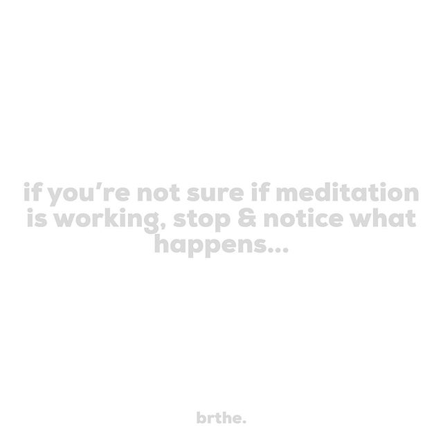 On the days we miss our meditation practice, instead of ragging on ourselves, try bringing a mindful awareness to how we feel on days that we don't, vs how we feels on the days that we do make it to the cushion. How do you feel when your meditation practice starts to slip? ______________