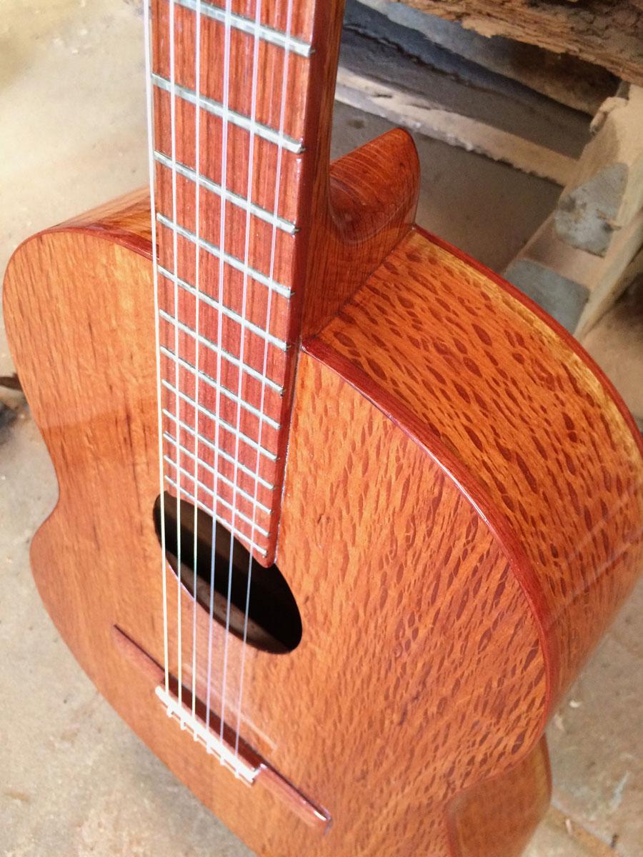 Sheoak acoustic  guitar