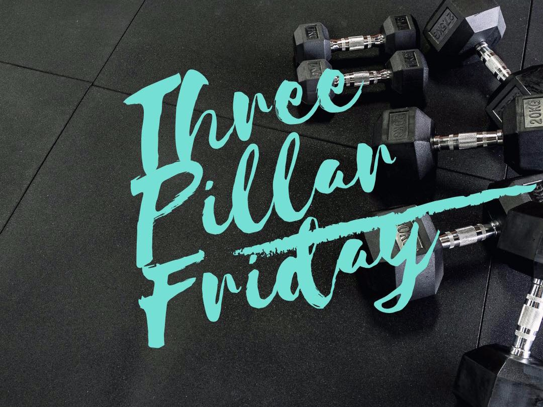 The Primal PFC Methods Three Pillar Friday. - Each Friday you will receive three new pillars of wisdom.- Something to improve your health.- Fitness, either a workout you can do at home or tips for moving better.- Something to keep you motivated.