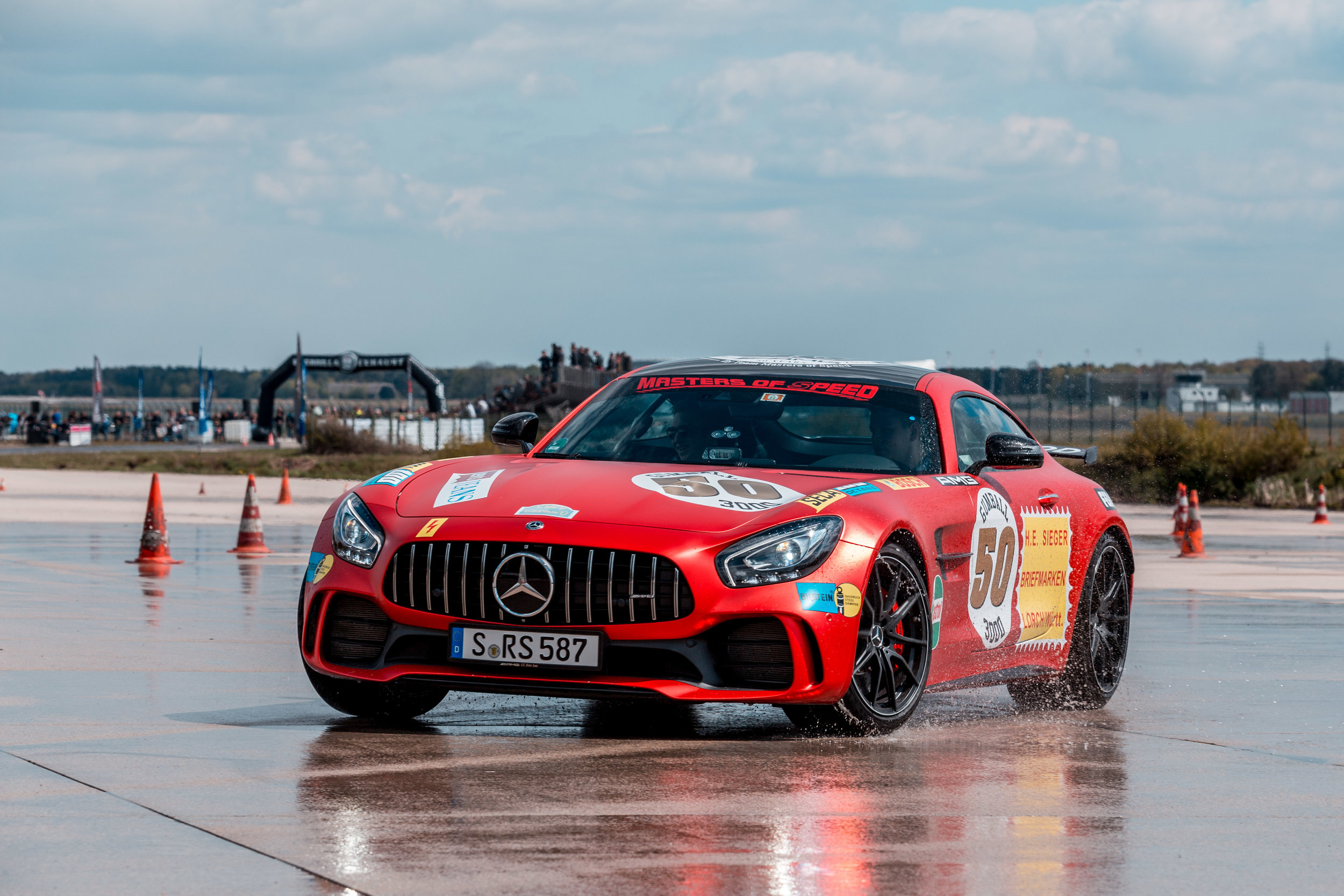 Spring Event Weeze - Drifting with our AMG's for the Drive for Good Initiative!