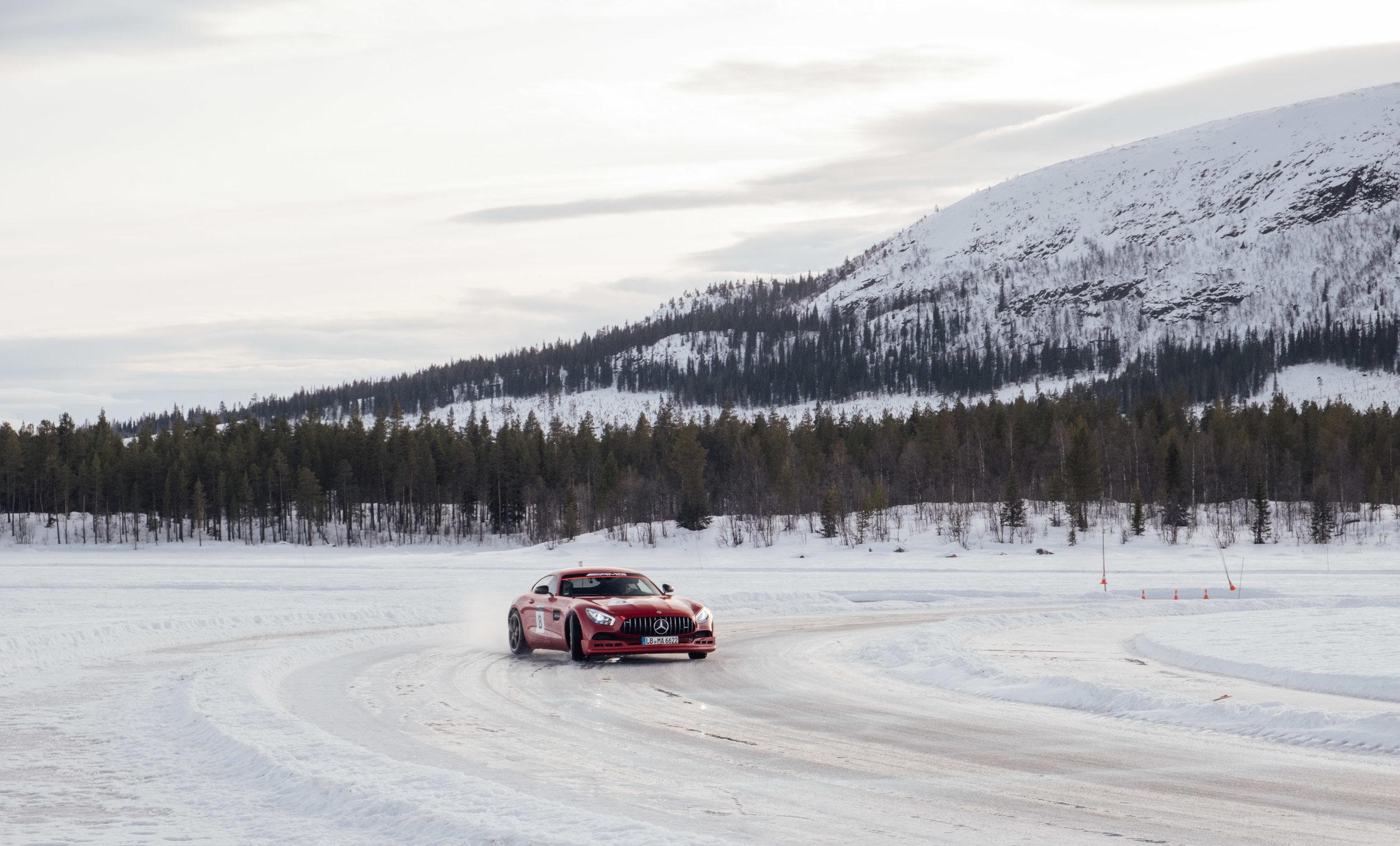 AMG Ice Drive 2019