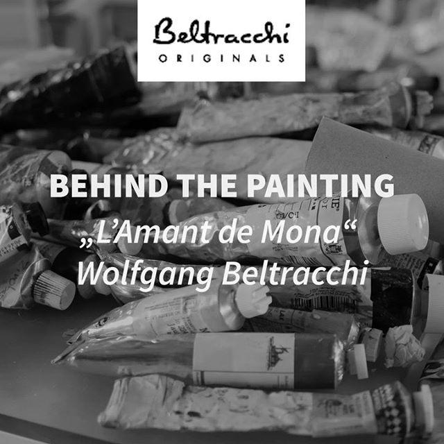 "Behind the Painting: ""L'Amant de Mona"" von Wolfgang Beltracchi. Pima T-Shirts ""L'Amant de Mona"" bis heute Abend im Deal der Woche! . . . . #beltracchi #tshirt #rebelwithlove #art #fashion #design #monalisa"