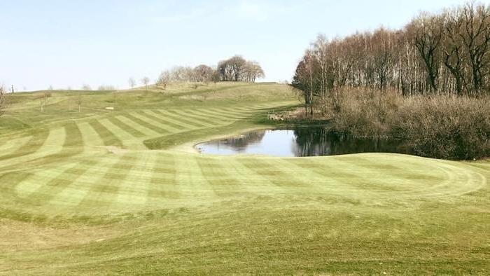 Nya hål 3 på Naturligtvis Golf & CC