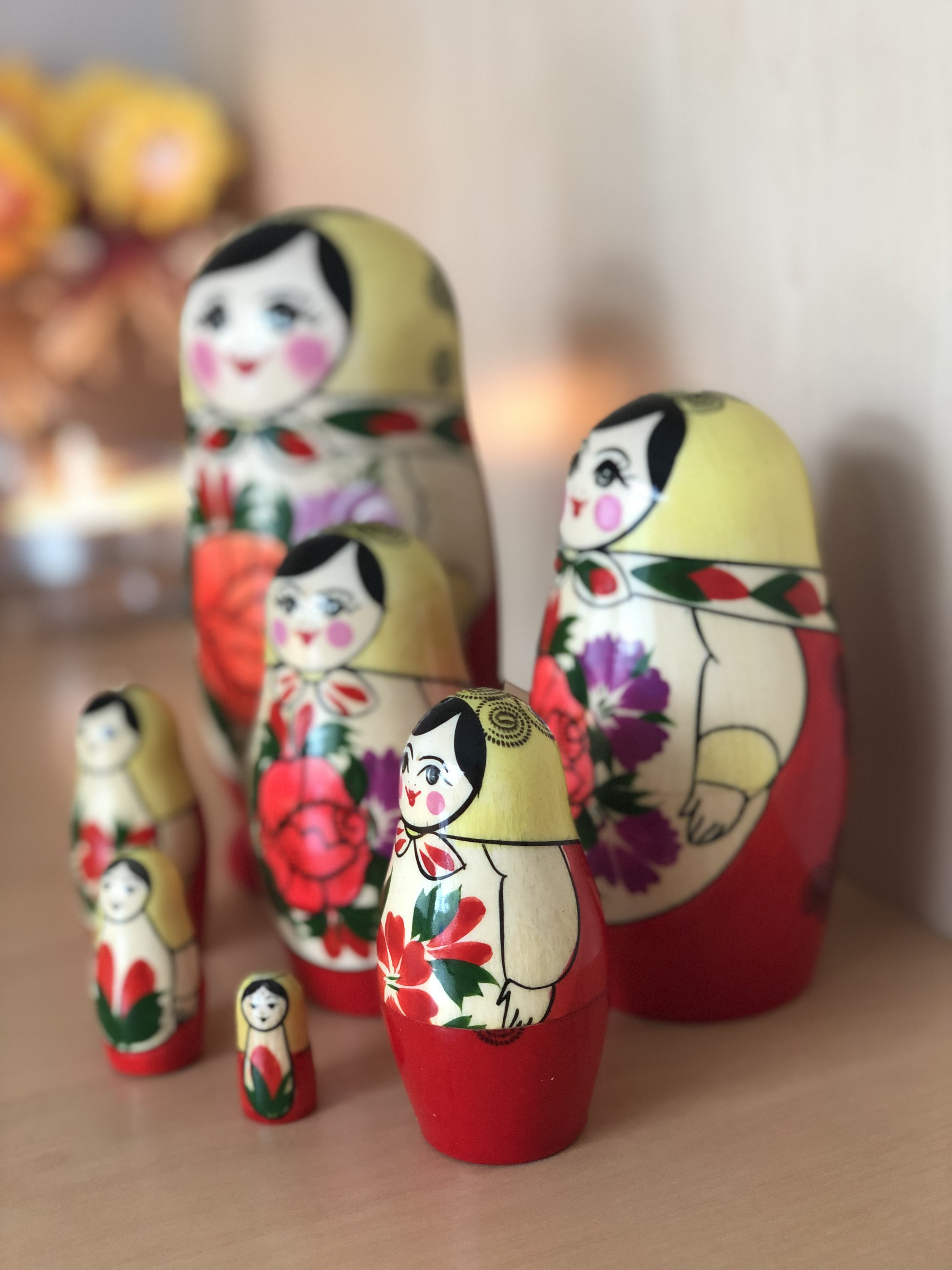 The Inner Child Russian Doll's