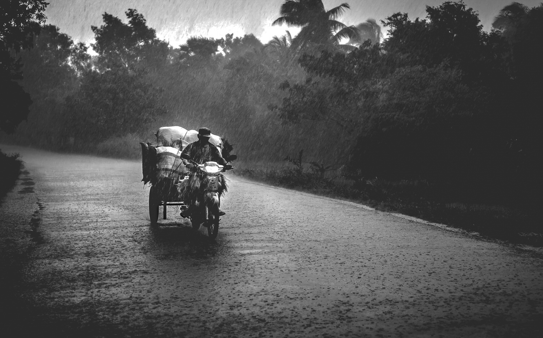 Cambodia rain