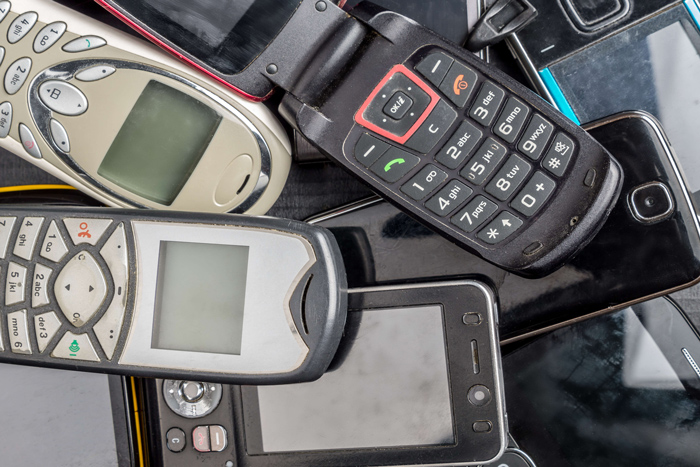 Smartphones, flip phones & old MP3 players contain dangerous metals like mercury and lead. Keeping them out of the normal waste stream is so important for our environment.