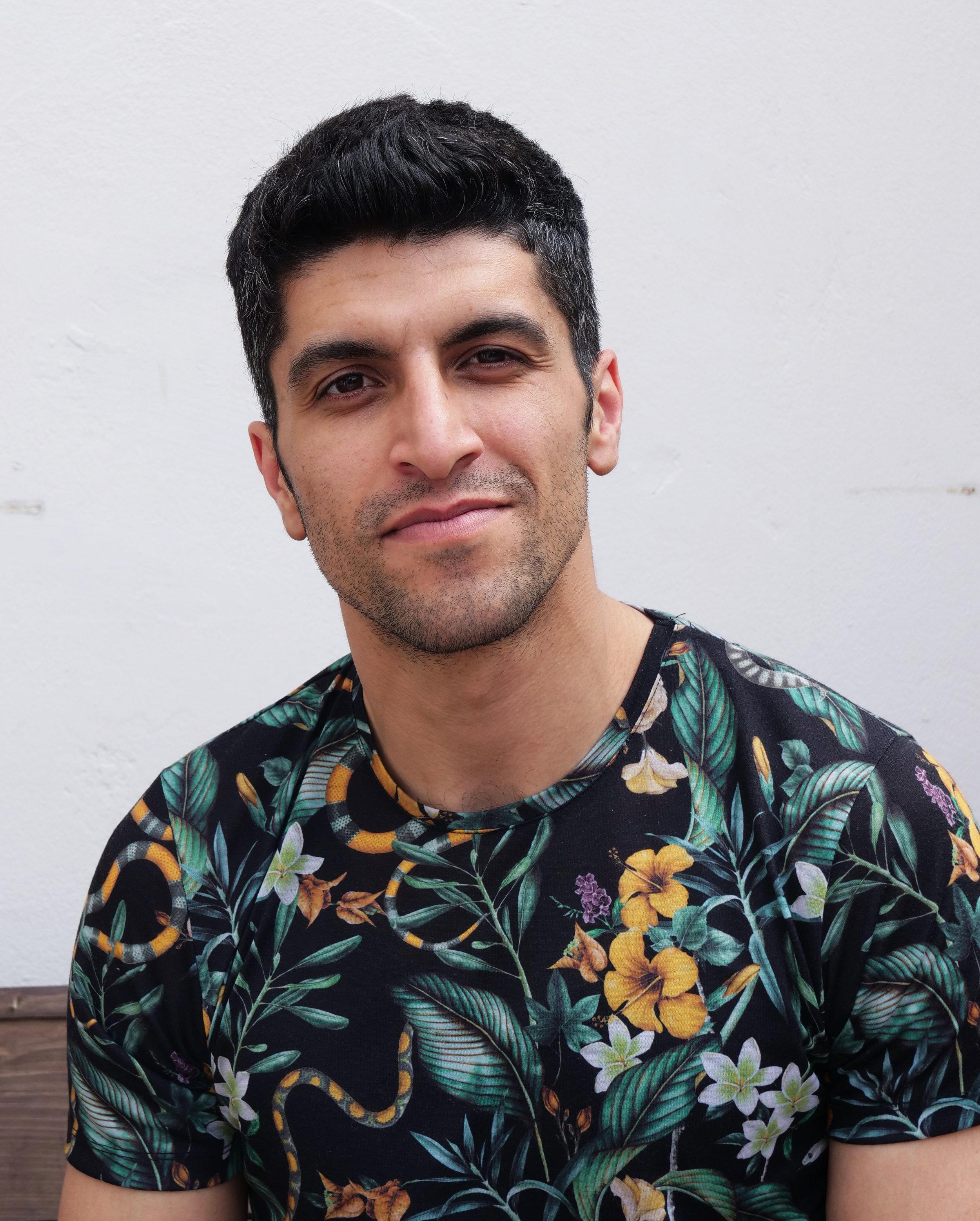 Reza deltager i Trampolinhusets iværksætterkursus for at få bedre jobmuligheder. Foto: Viktoria Steinhart.
