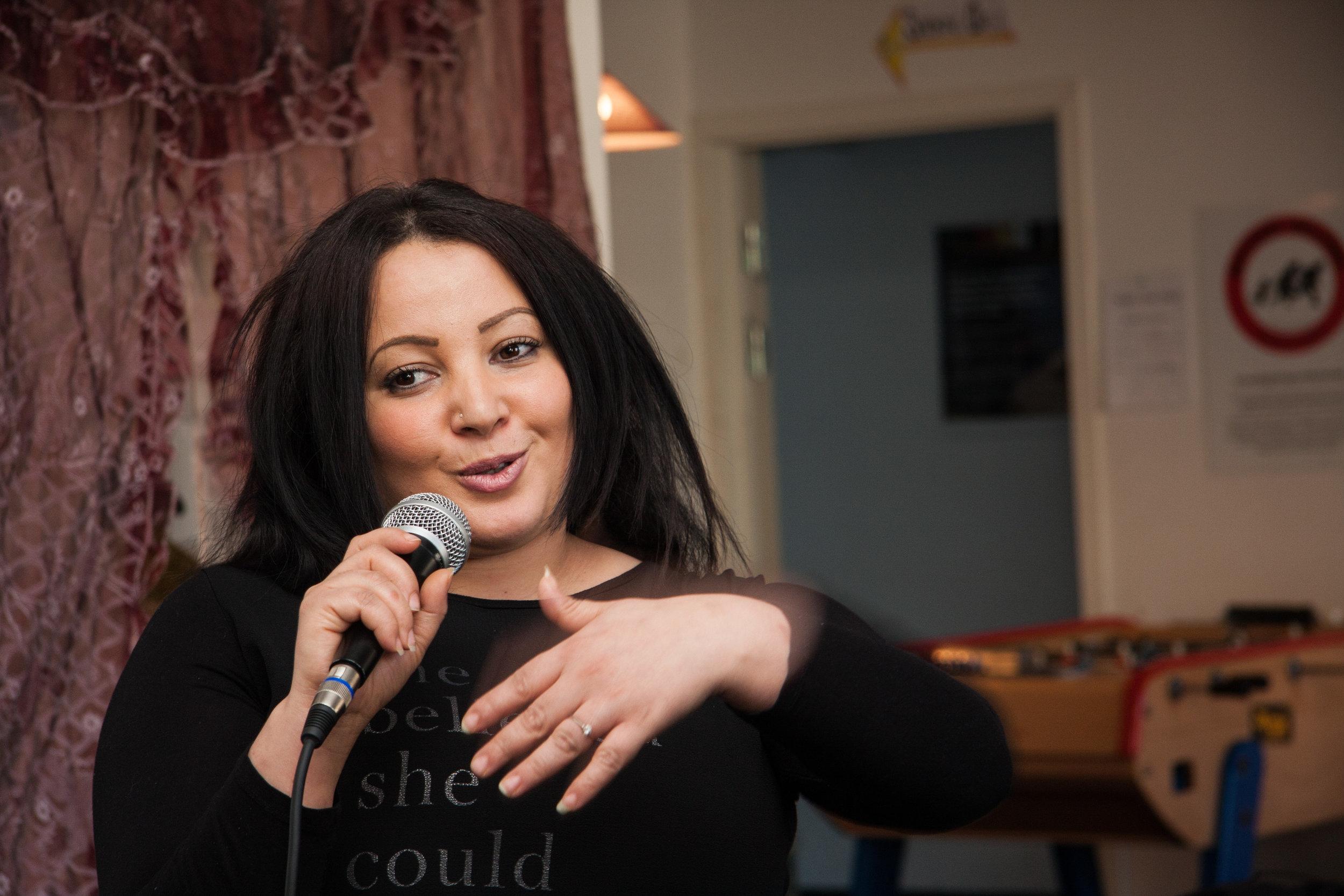 Nabila Saidi. Foto: Britta My Thomsen