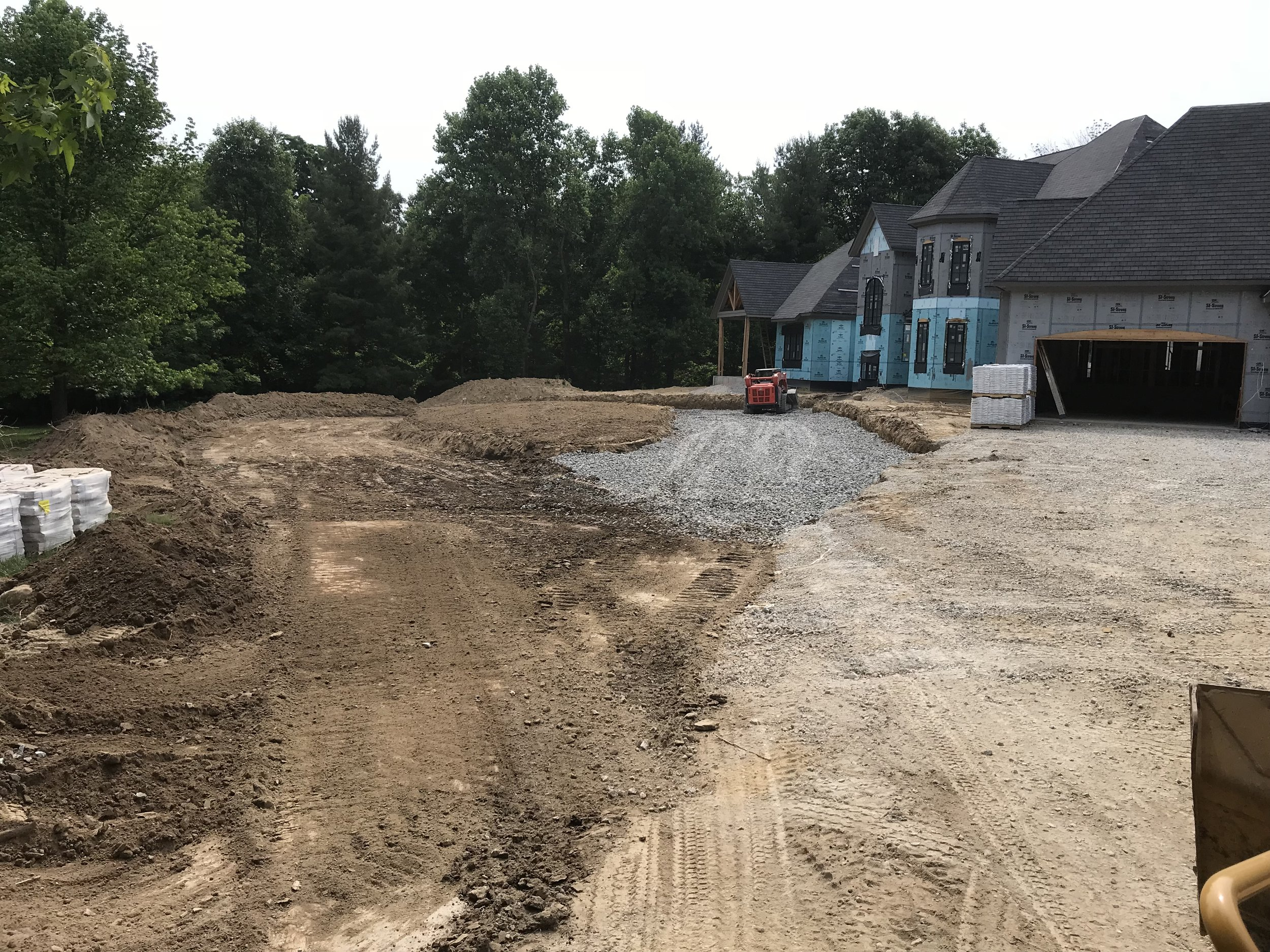 NEW CONSTRUCTION DRIVE