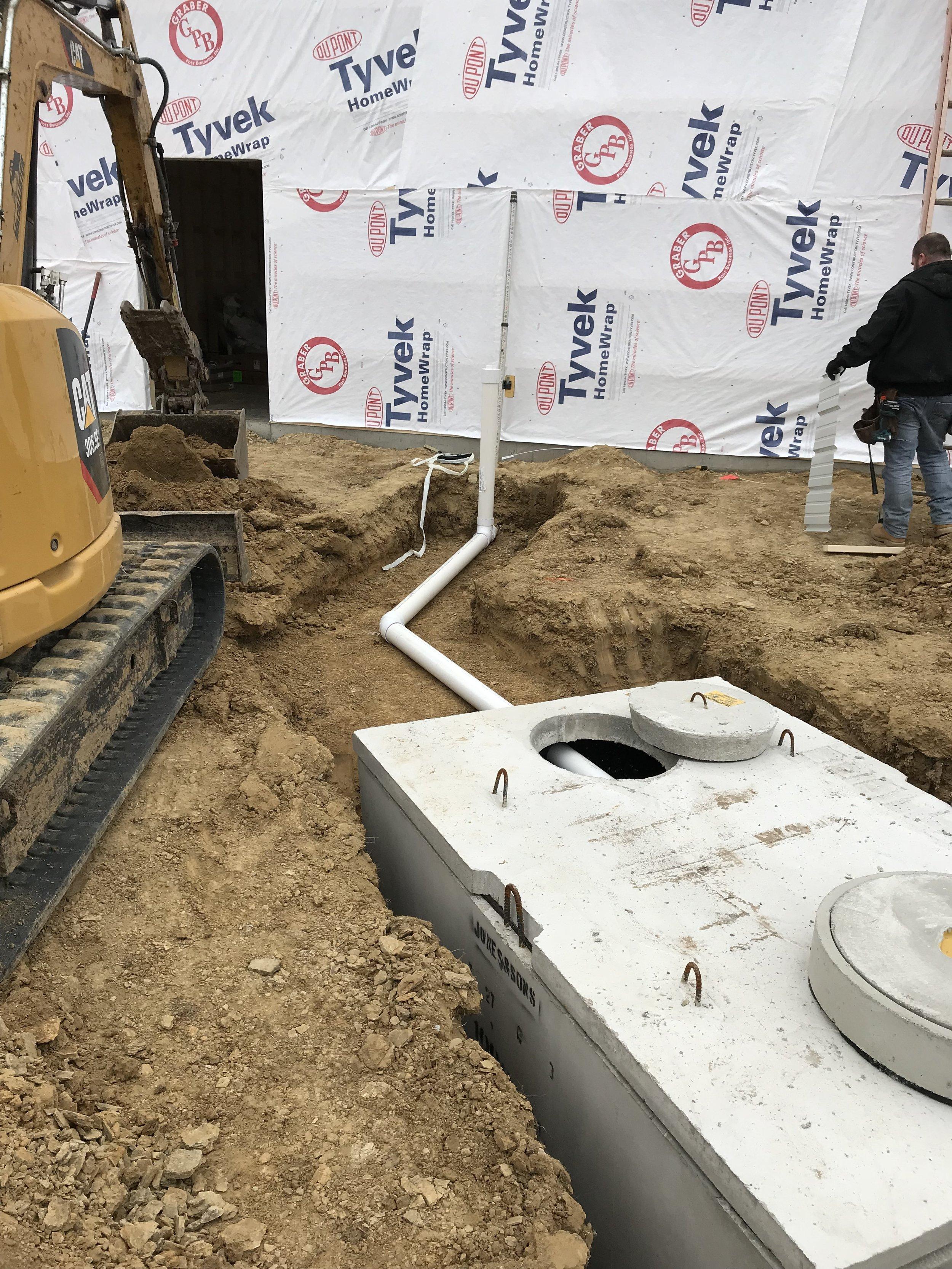Septic Tank Install