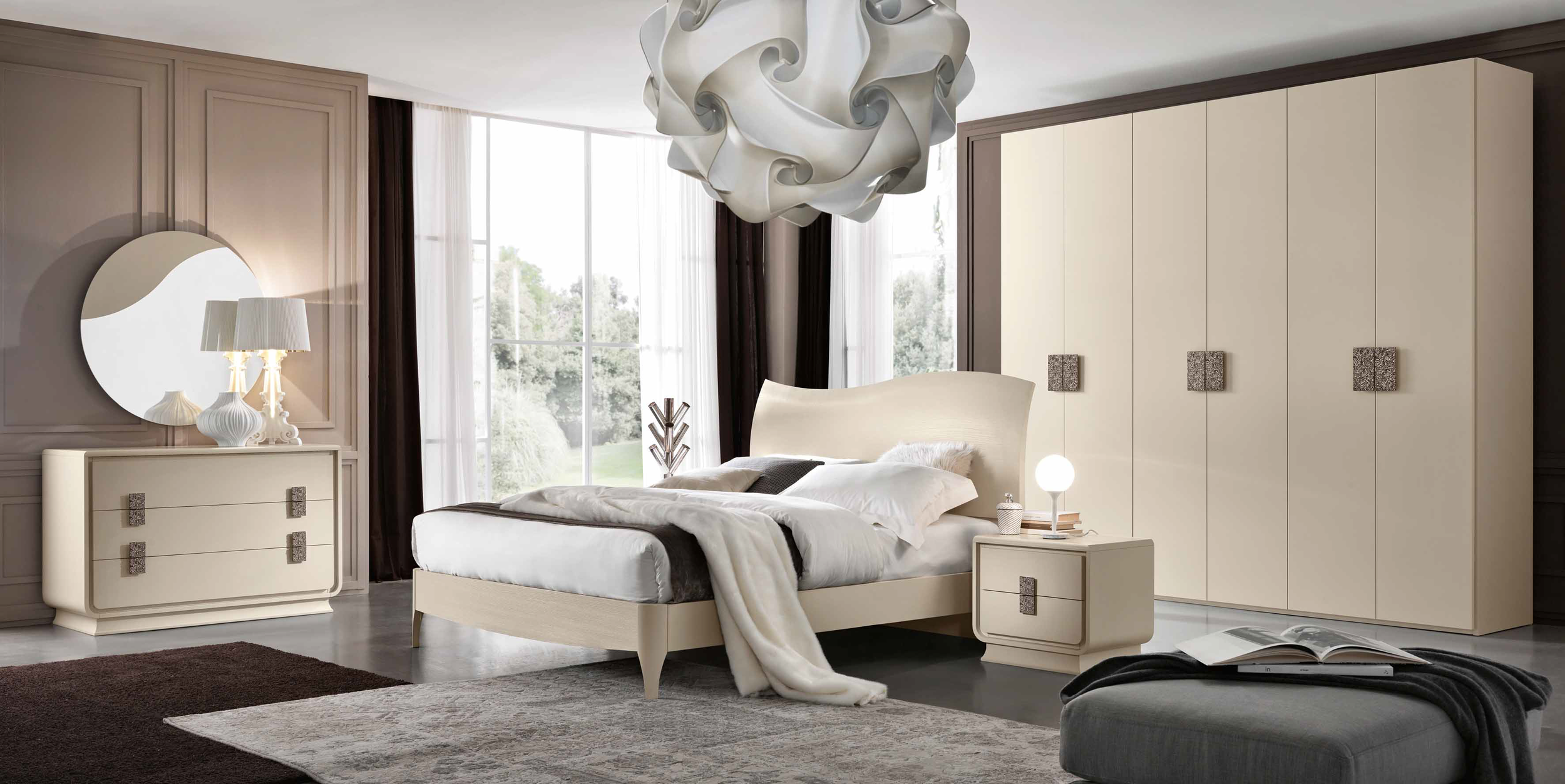 SHAPING YOUR BEDROOM WITH EXCLUSIVE TOUCH