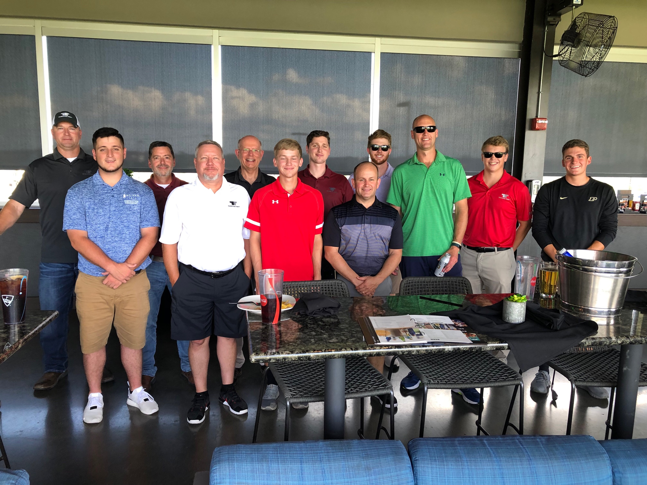 Work hard. Play hard. After the internship presentations, the group went to Top Golf to celebrate their accomplishments and have a little fun!