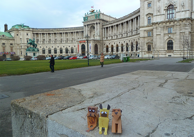 Pups In Vienna! -