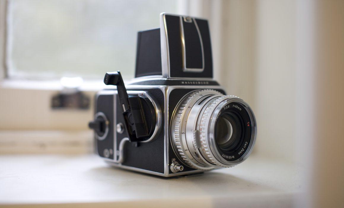 Hasselblad 500CM Medium Format Camera for wedding film photography