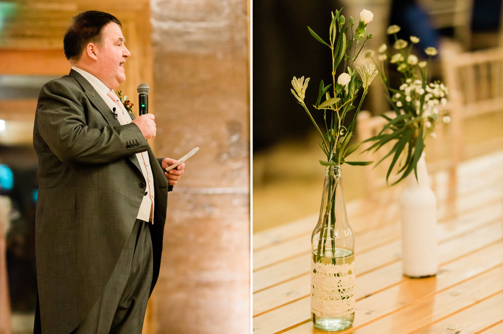 Cheltenham-Wedding-Photographer-Winter-Wedding-Elmore-Court-Reception-Room-flowers-by-Charlotte-Elizabeth-father-of-the-bride-speech.jpg