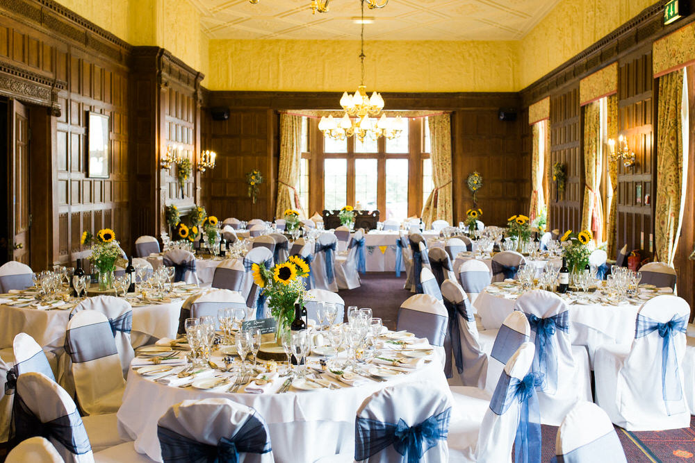 Special-Day-Photography-Dumbleton-Hall-hotel-Evensham-Reception-Room-at-Dubleton-Hall-Hotel-Sunflower-themed-wedding-decor.jpg