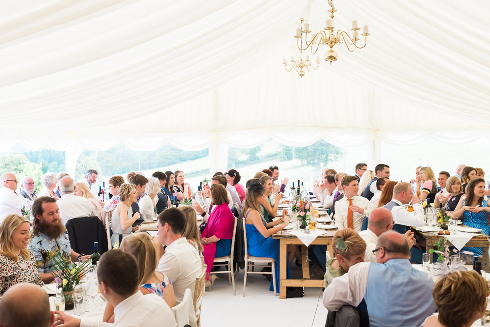 Special-Day-Photography-The-Bringewood-Ludlow-The-Bringewood-Hillside-Wedding-guests-sitting-for-their-meal.jpg