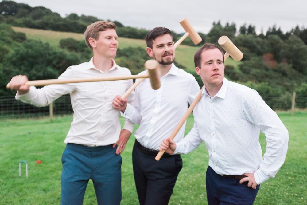 Special-Day-Photography-The-Bringewood-Ludlow-The-Bringewood-Hillside-Wedding-team-groom-playing.jpg