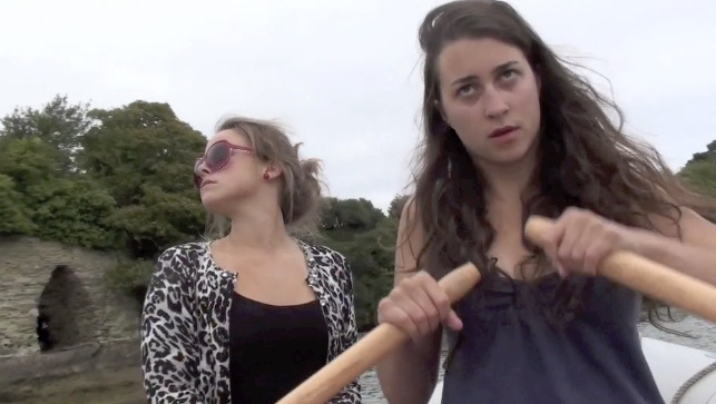 Lizzy and Lady Catherine rowing.jpg