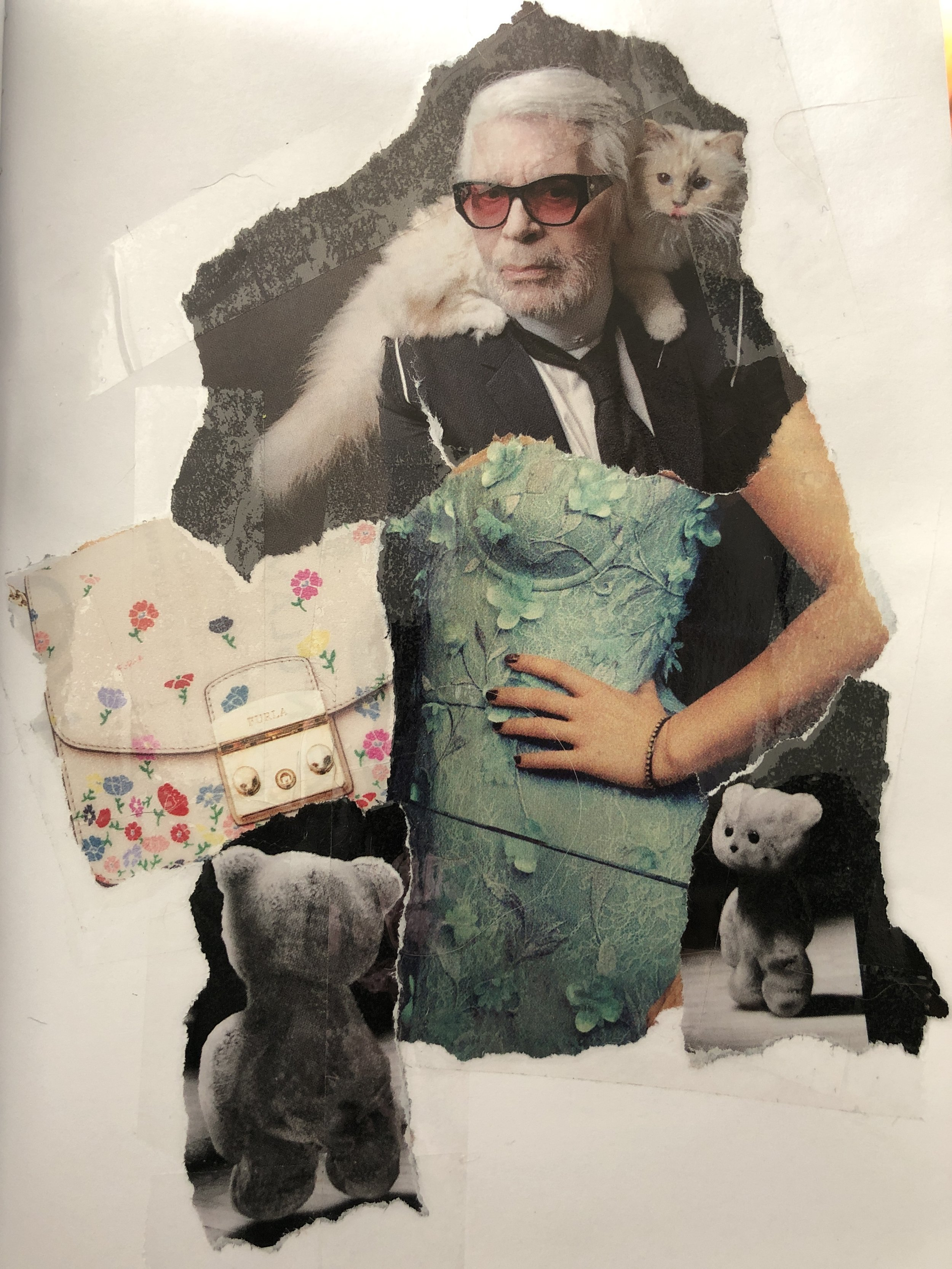 Teddy Bears at She/Him Fashion Show