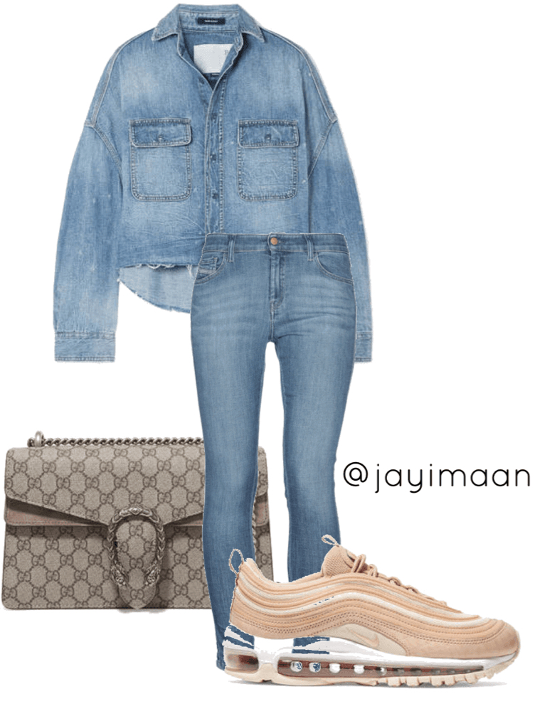 Look 1: Comfort and casual. Perfect for a fast and easy look