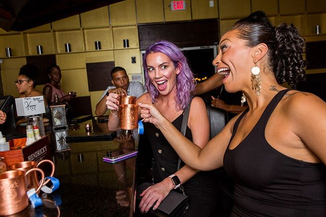 That Friday feeling 👆🏼 Shake off the work week and join us tonight. Doors open at 5pm!