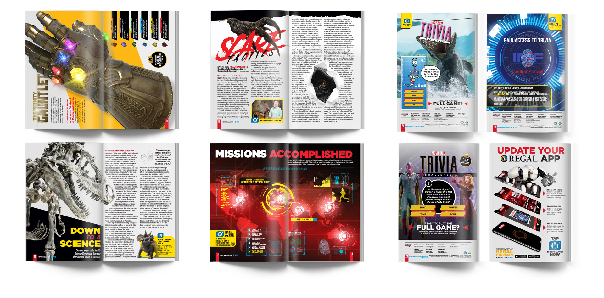 Print - 28 Page Layout | Advertisements, Feature and Centerpiece