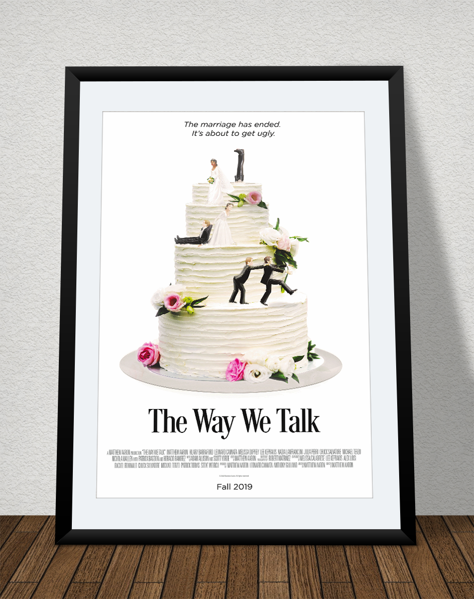 """""""The Way We Talk"""" Movie Poster - Creative Design and Creation 