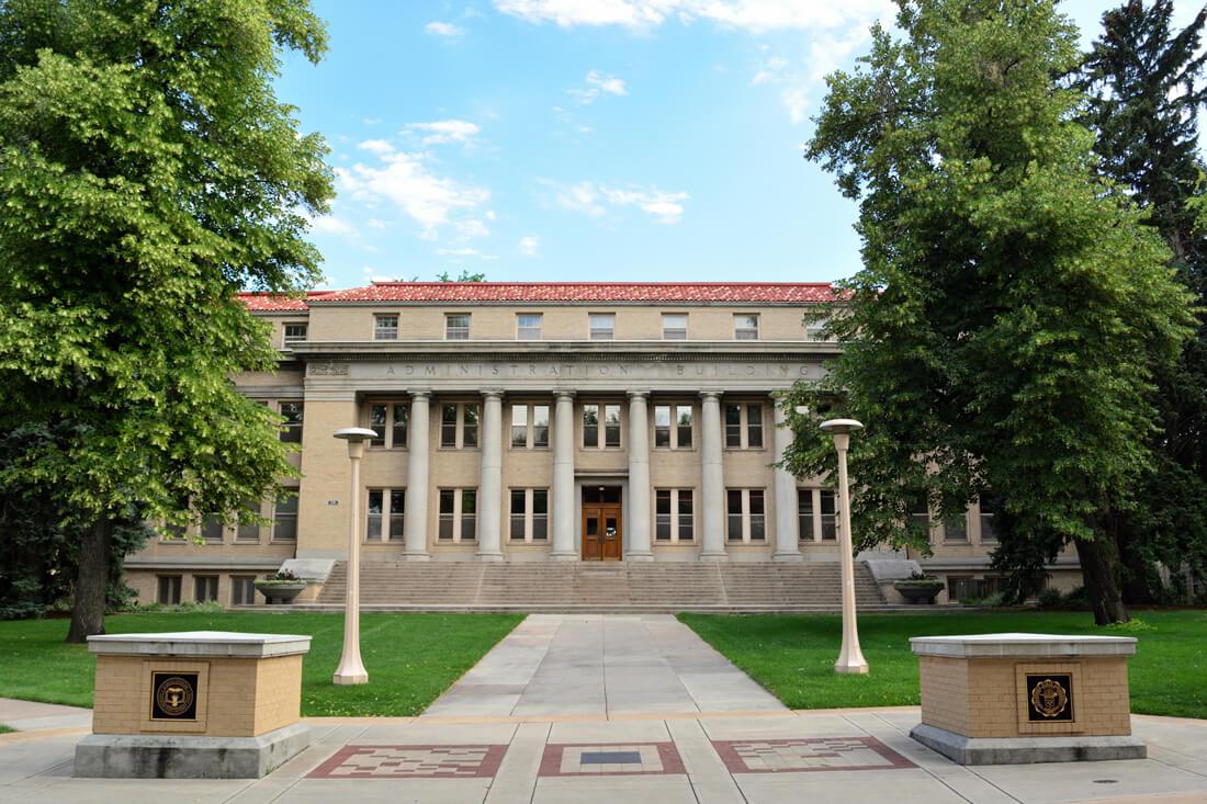 Colorado State University Administration Building