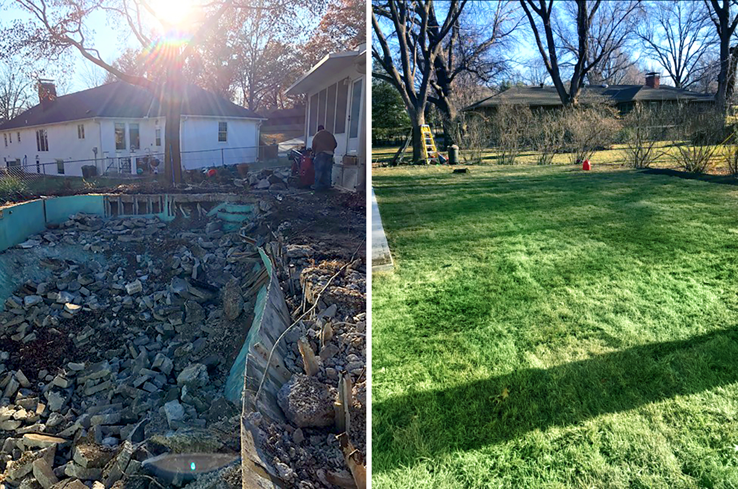 Before and After Lawncare