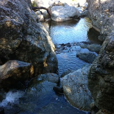 A natural stream.