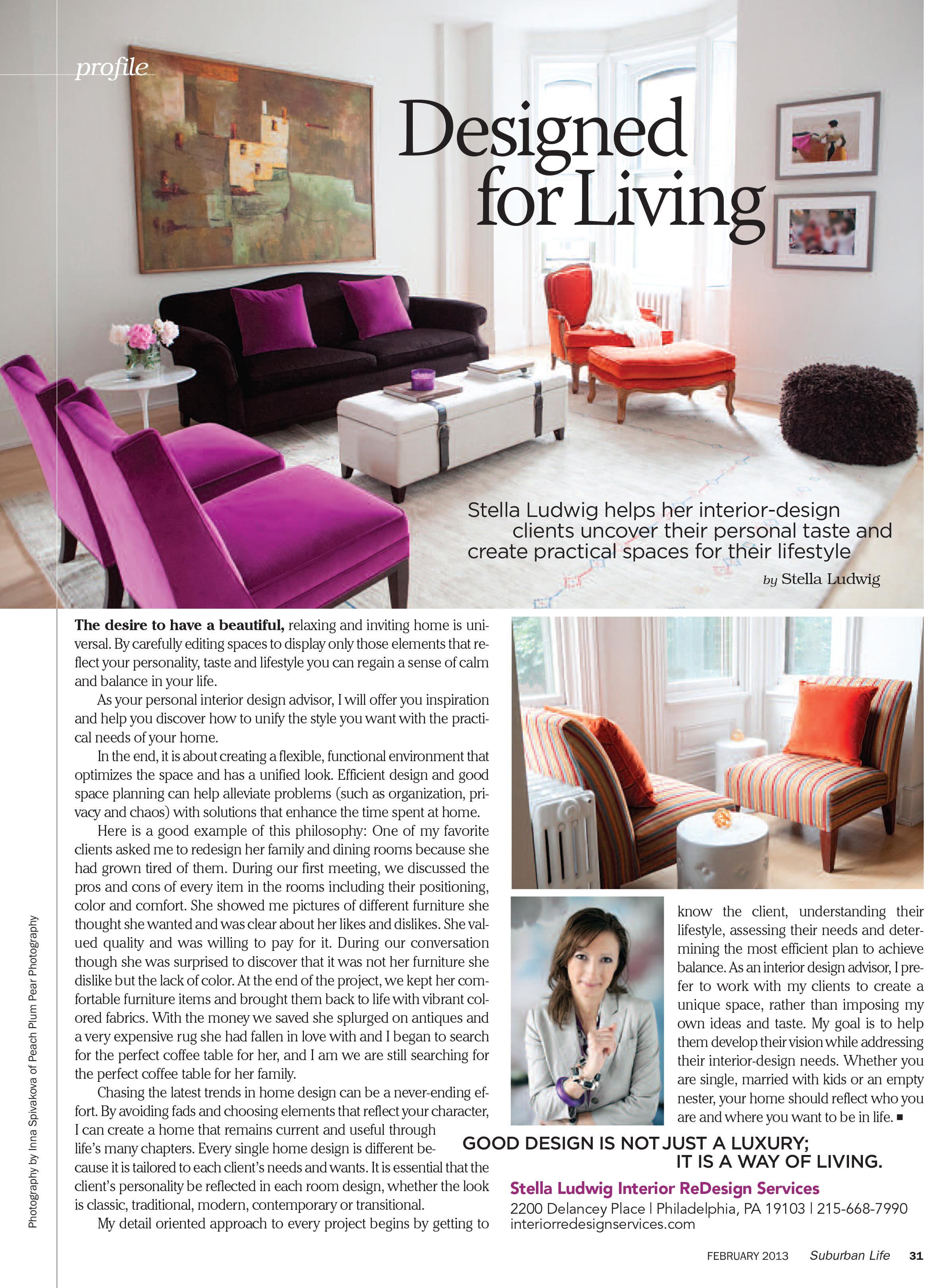 Philadelphia & Suburban Life Magazine