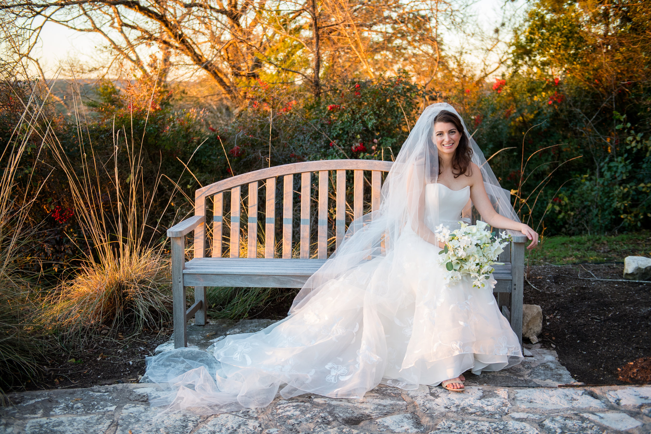 """Our wedding was made possible because of Barbara Shorts and her team! They are experienced event planners that give great advice during every phase of the wedding planning process. From venue selection to cake tasting Barbara is connected with Austin's most capable vendors. Her organization and planning skills made our wedding a breeze!""  -Corinne T., Bride"