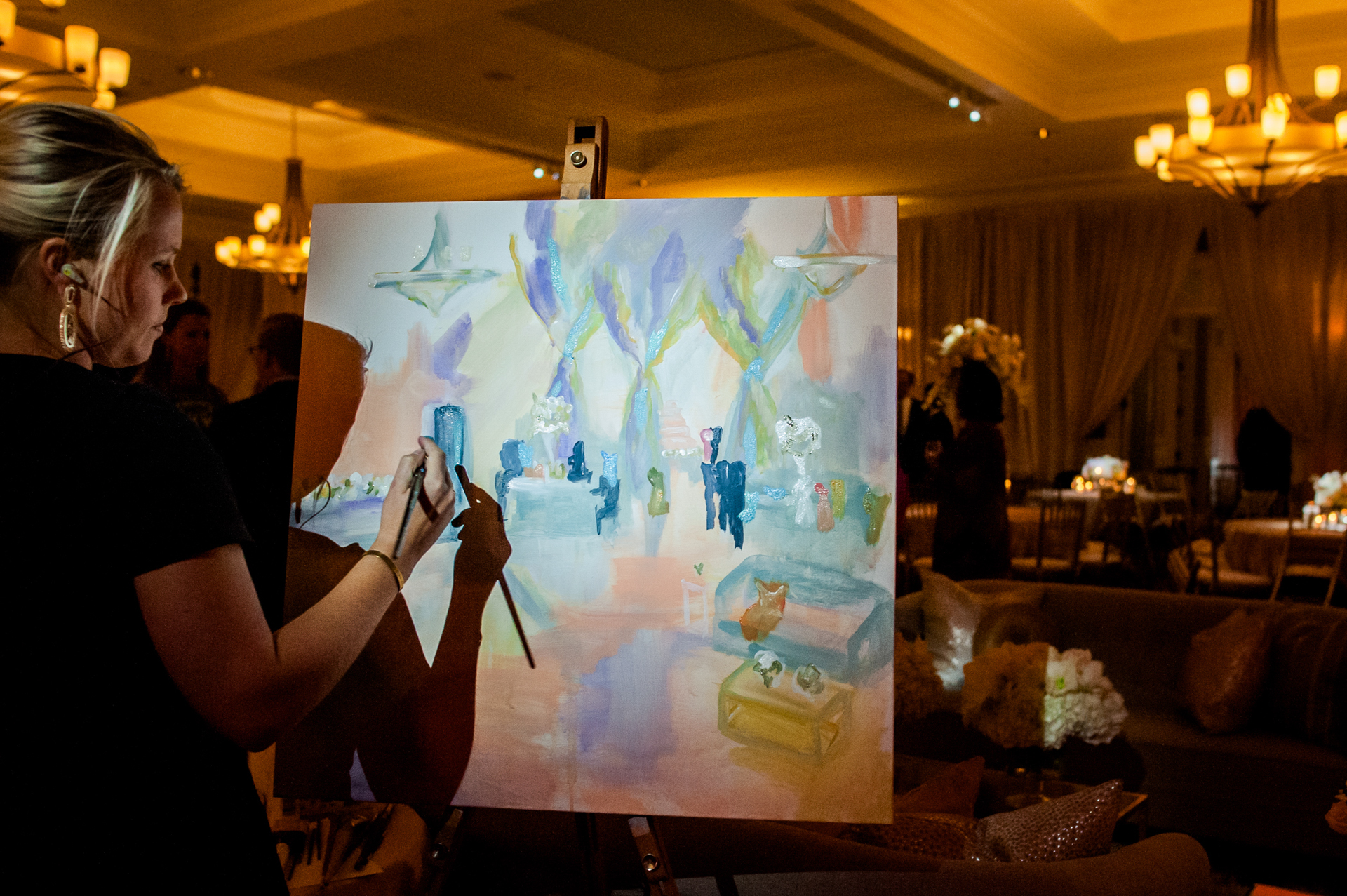Jennie Tucker , Live Event Painter