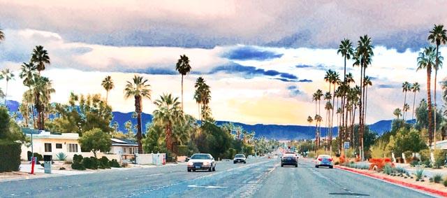 Palm Springs Vista Chino and Caballeros