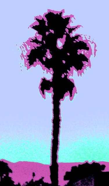 Palms #1 - Lavender