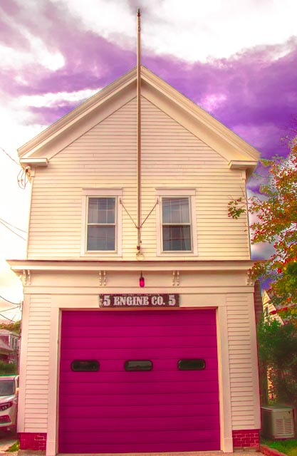Provincetown: Engine Co. 5 Purple Sky