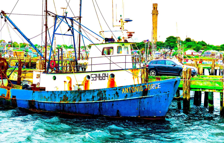 Provincetown Boats Antonio Jorge