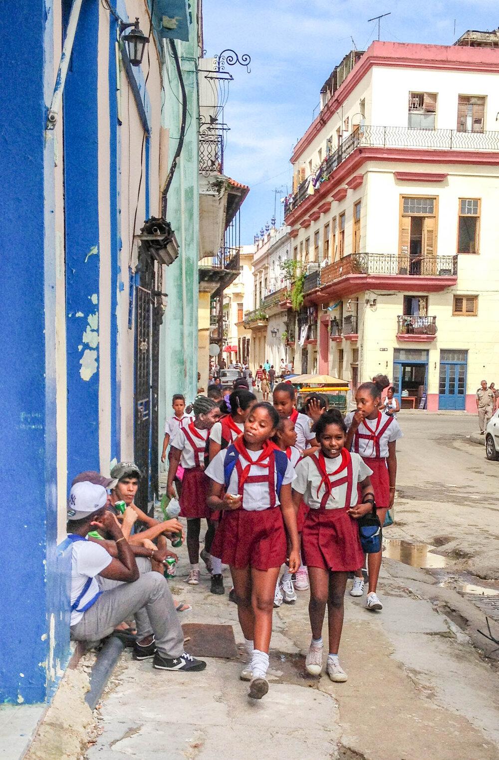 Havana School Girls