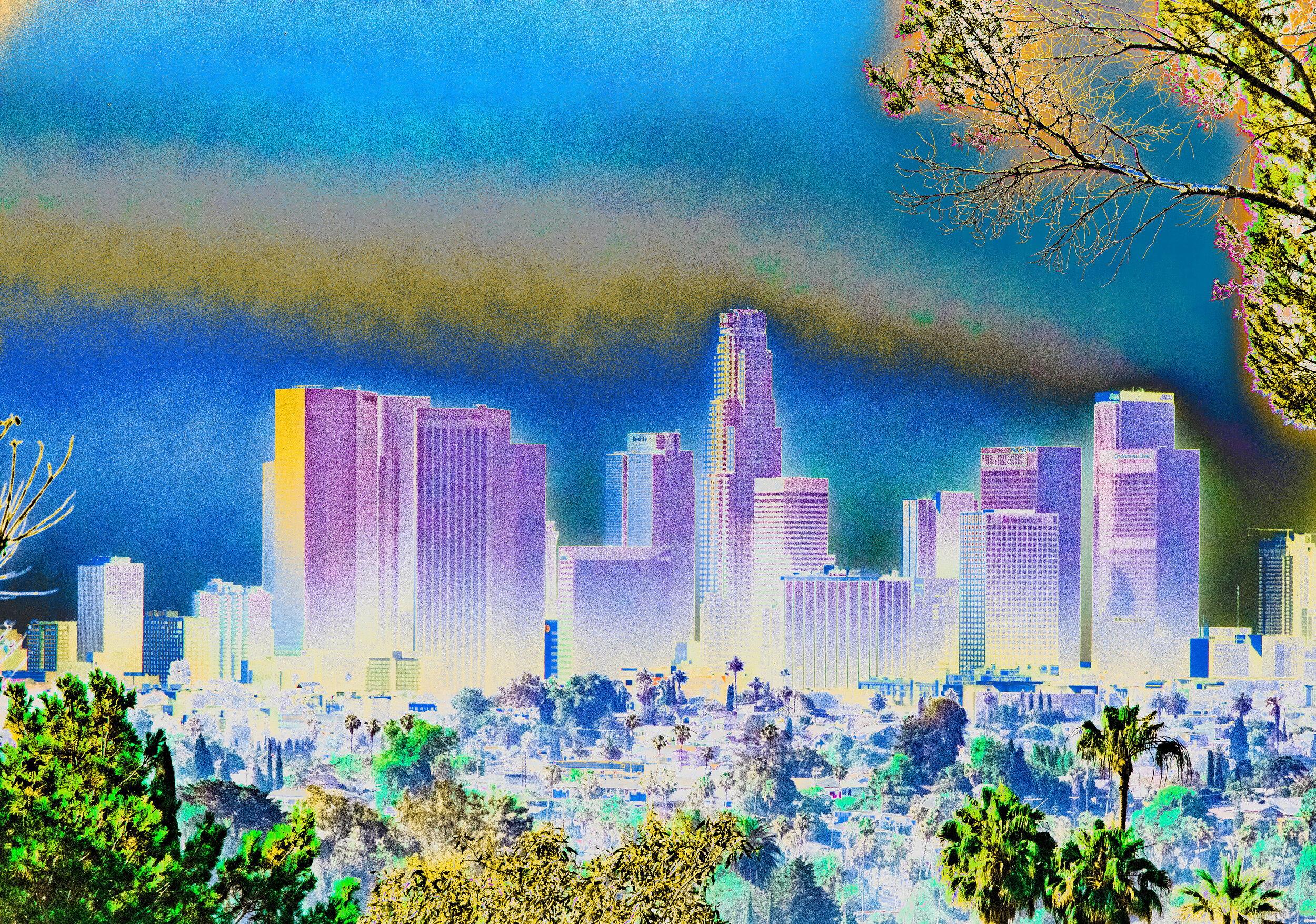 Downtown LA from Echo Park