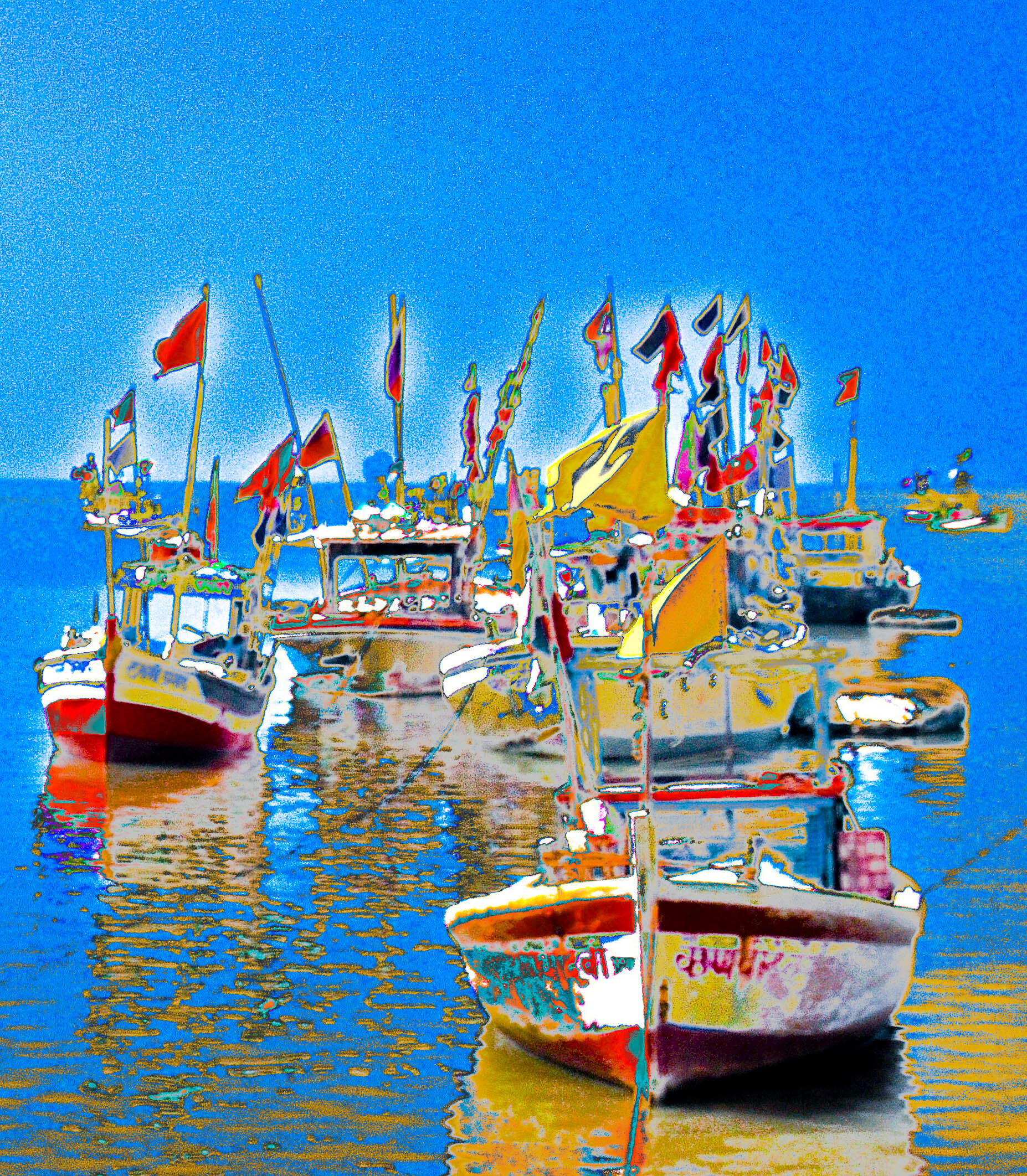 Arabian Sea Fishing Boats