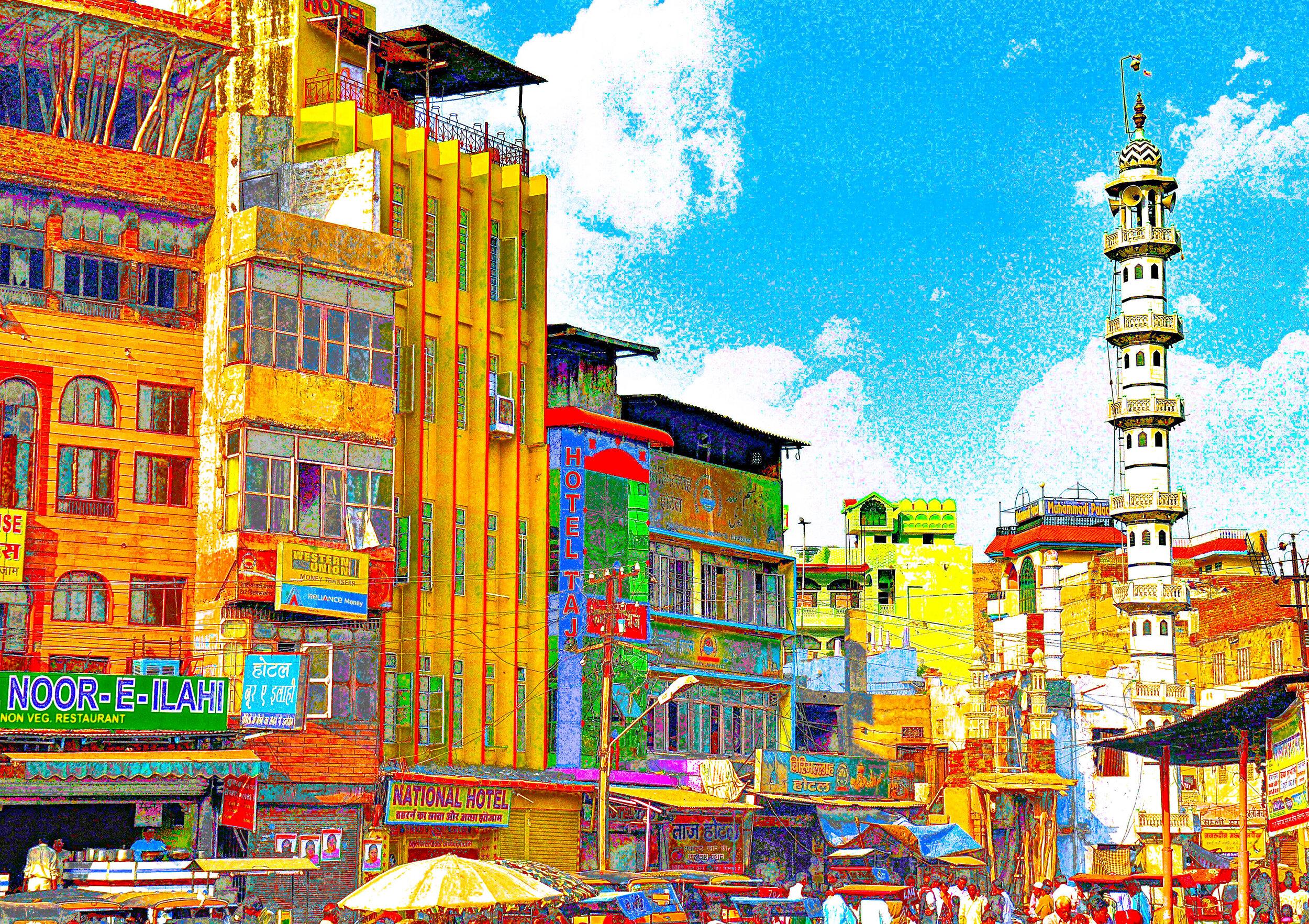Downtown Agra, India
