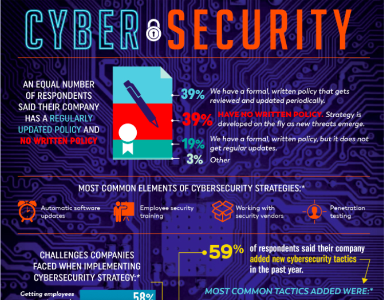 CyberSecurity infographic screenshot